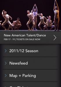 Ballet Austin - Landing Screen