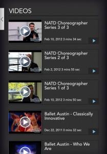 Ballet Austin - Videos