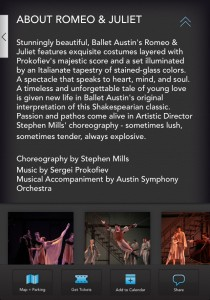 Ballet Austin - Additional Info